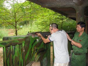 Test d'un AK47