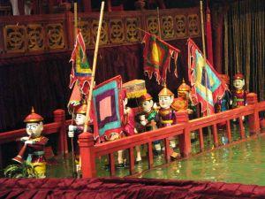 Théatre de marionnette - Hanoi