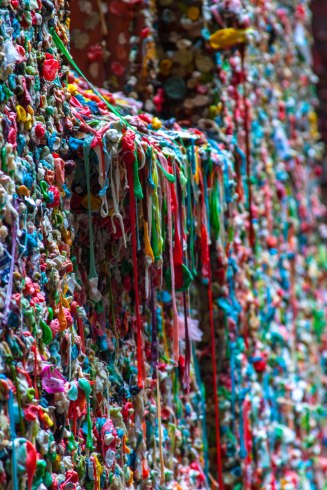 Le célèbre wall gum