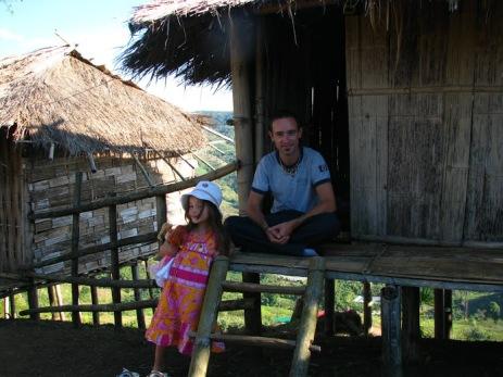 Petite hutte en Thaïlande