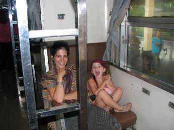 Une nuit dans le train
