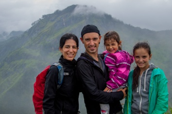 Au sommet du Little Adams Peak
