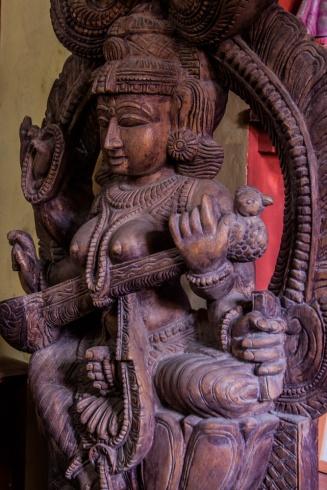 Une déesse Hindou