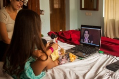 Skype avec Mamie-Claire