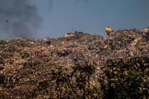 Montagne de déchets