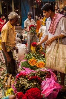 Marché de fleurs