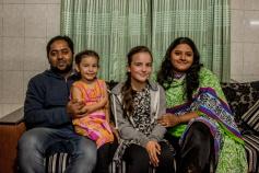 Ronny, Fatima et les filles