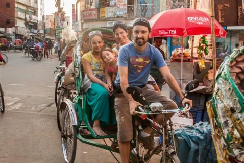 Notre rickshaw
