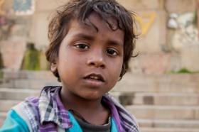 Enfant sur les Ghats