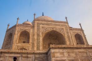 Le Taj de près
