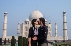 Le seul endroit où l'on peut s'embrasser en Inde