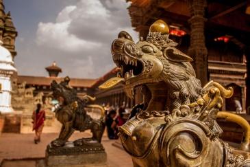 Gardien d'un temple
