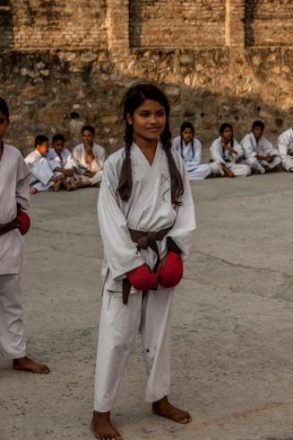 Ashmita avant son combat