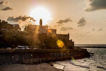 Coucher de soleil sur Jaffa