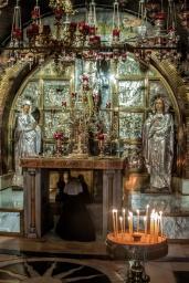 Autel sur le mont Golgotha (Basilique du Saint-Sépulcre)