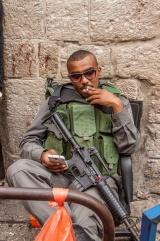Un soldat bien relax