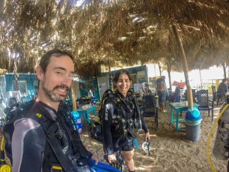 Les apprentis-plongeurs
